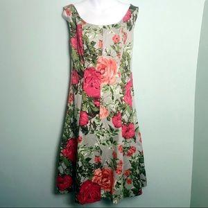 Jones Studio Floral Midi Dress - 18